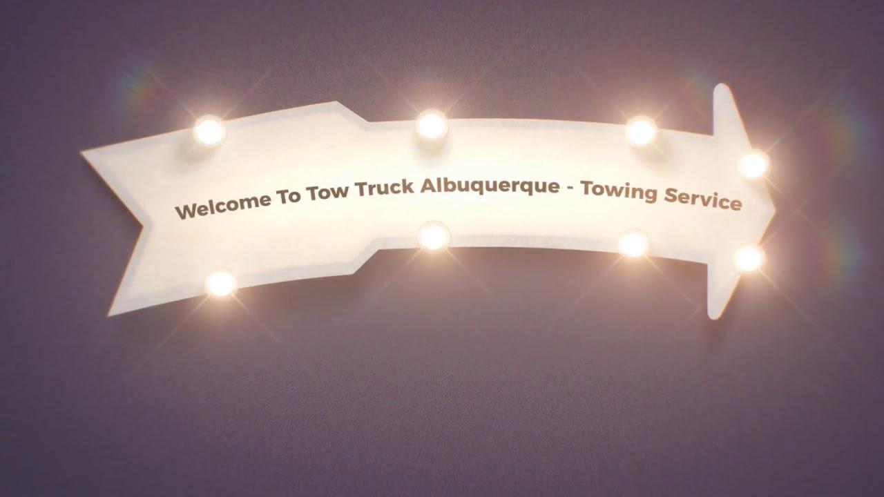 Tow Truck Albuquerque - Towing Service