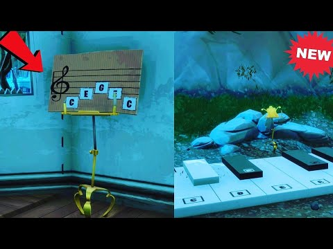 Find The Sheet Music In Pleasant Park (Fortnite Battle Royale)