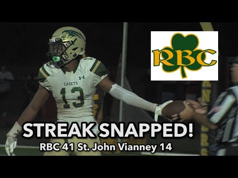 Red Bank Catholic 41 Saint John Vianney 14 |  RBC snaps SJV 38 game Shore streak