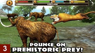 Sabertooth Tiger Simulator By Gluten Free Games -Part 3 -  iPhone, iPad, and iPod touch. Android