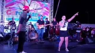 Buleria ft Maryann - Reina di Pordon @ Carubbean Aruba 09-06-2016