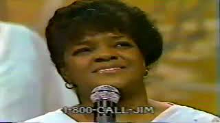 Shirley Caesar on The PTL Club early 80s