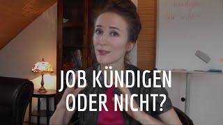 Job kündigen oder nicht?  |  Valentina Levant