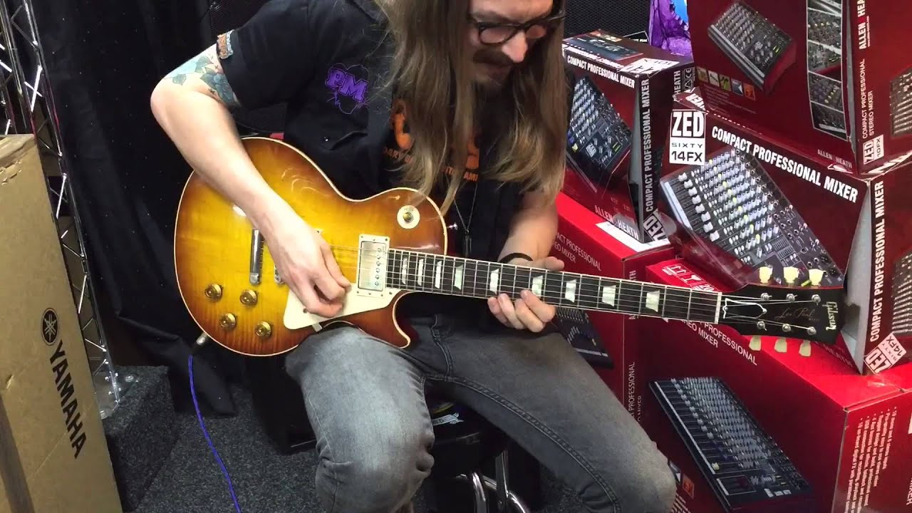 gibson les paul 58 historic with ox4 pickups youtube