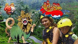 Активный отдых с детьми на острове Бали. Рафтинг, дайвинг, серфинг(Please watch: