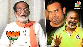 Gangai Amaran in RK Nagar election: Will this affect his sons' career | Interview, Venkat Prabhu