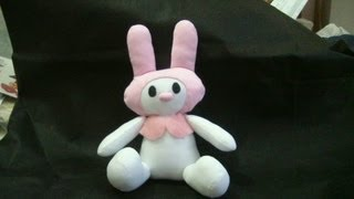 Muñecos soft...serie hello kitty-conejo melody...proyecto 174