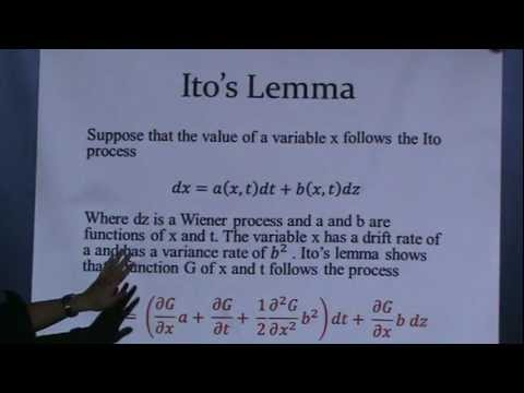 Ito's Lemma