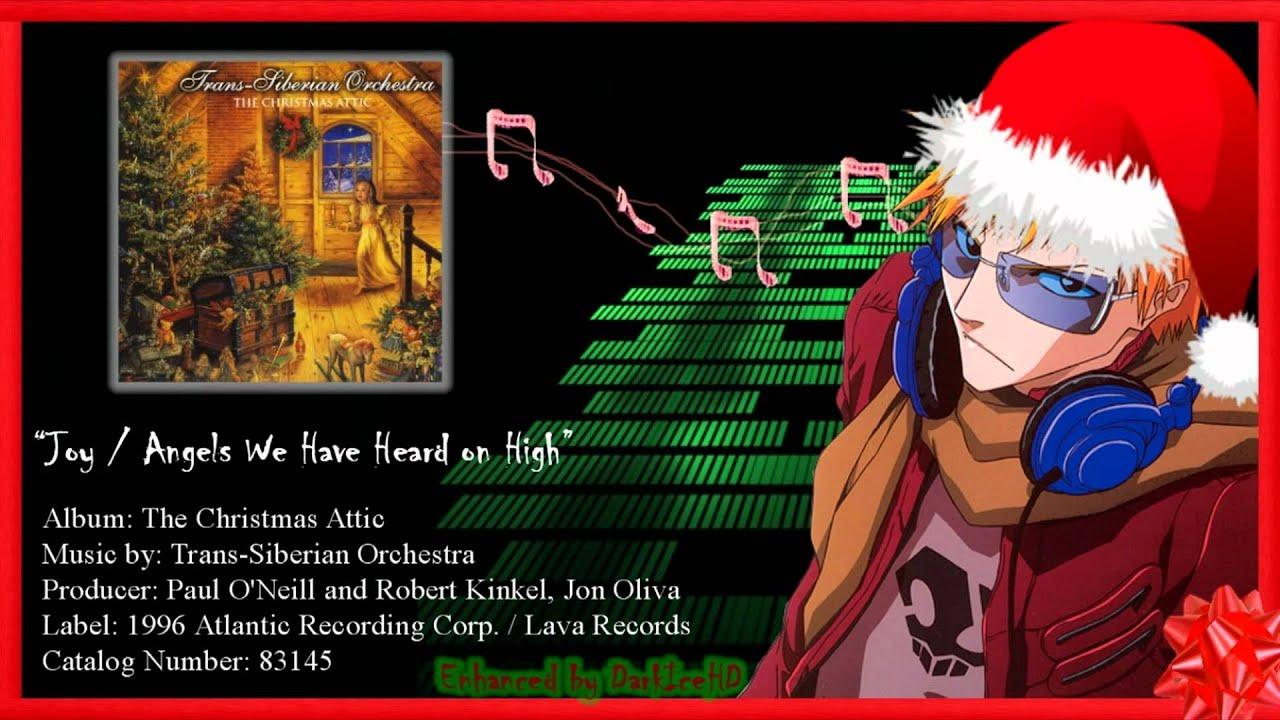 The Christmas Attic - Joy/Angels We Have Heard on High [Enhanced ...