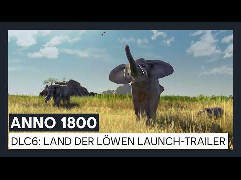 ANNO 1800 - DLC6: Land der Löwen Launch-Trailer DE | Ubisoft [DE]