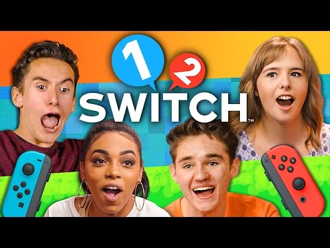 1-2-SWITCH TOURNAMENT - Nintendo Switch (Teens React: Gaming)