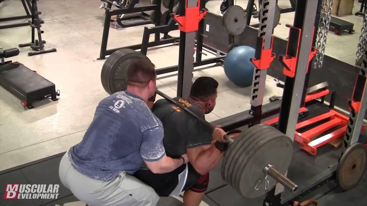 Download Steve Kuclo   2014 Heavy Legs Workout