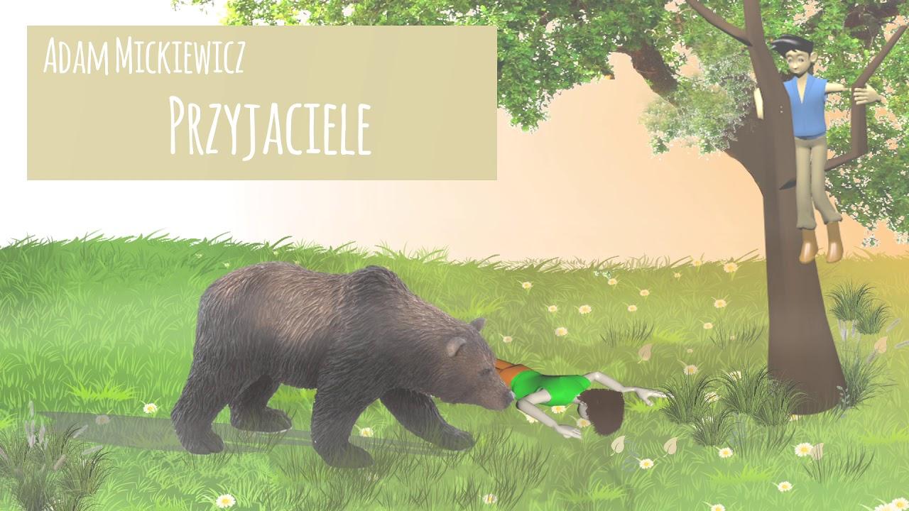 Przyjaciele A Mickiewicz Do Nauki Na Pamięć