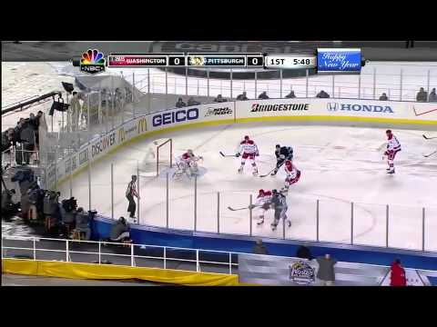 5a872887c2c NHL  2011 Winter Classic Pittsburgh Penguins vs Washington Capitals  Highlights - YouTube