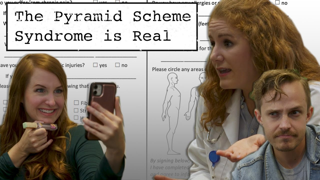 The Pyramid Scheme Syndrome is Real