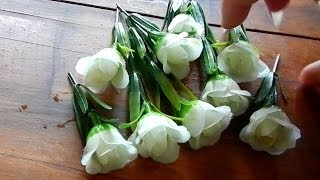 How easily clean the dust from silk flowers