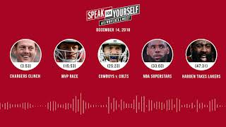 SPEAK FOR YOURSELF Audio Podcast (12.14.18) with Marcellus Wiley Jason Whitlock | SPEAK FOR YOURSELF