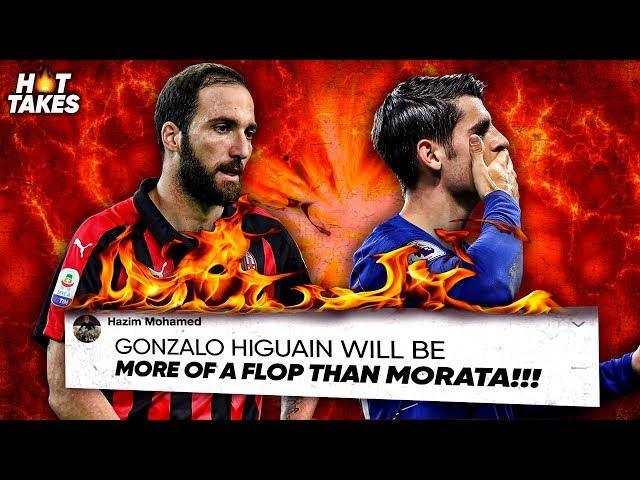 """""""Gonzalo Higuain Will Be A Bigger FLOP Than Morata At Chelsea"""" 