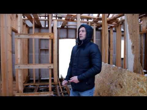 СУПЕРКОСЯКИ. Дом под снос. Каркасный дом почти рухнул. Полная пределка