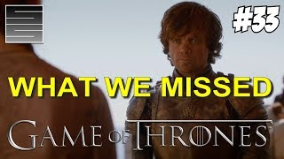 Game Of Thrones Season 8 Prep Foreshadowing | Game Of Thrones What You Missed Part 33