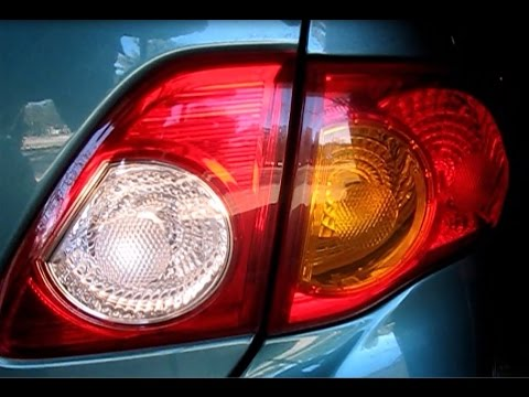 How To Replace Toyota Corolla Rear End Lights 09 13