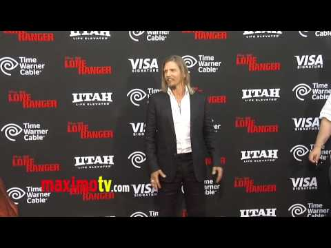 "Barry Pepper ""The Lone Ranger"" Premiere Disney California Adventure Park"