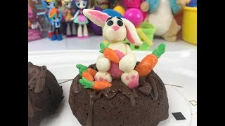 Peter Cottontail Modeling Chocolate  Happy Easter Day!