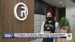 Some Local Gyms Renting Equipment To Members