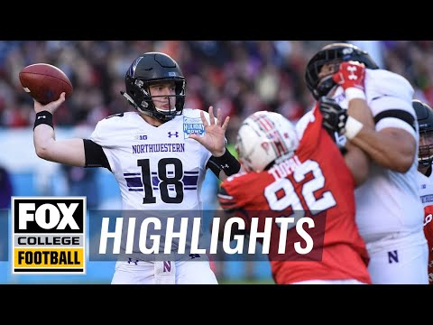 Utah vs. Northwestern | FOX COLLEGE FOOTBALL HIGHLIGHTS