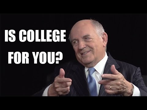 Charles Murray: Too many people are going to College