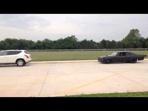 Murder Nova dropping his son off at school...STREET CAR!!!