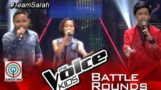 "The Voice Kids Philippines 2015 Battle Performance: ""Keep Holding On"" by Andrew vs Amira vs Owen"