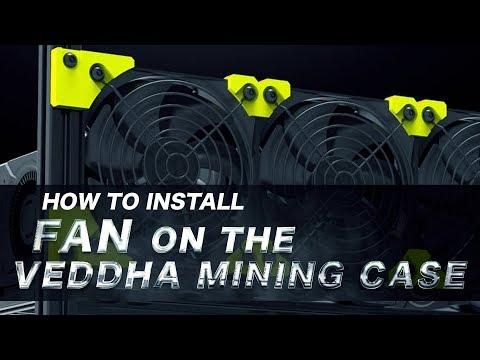 120mm Fan Installation On The Veddha Mining Case