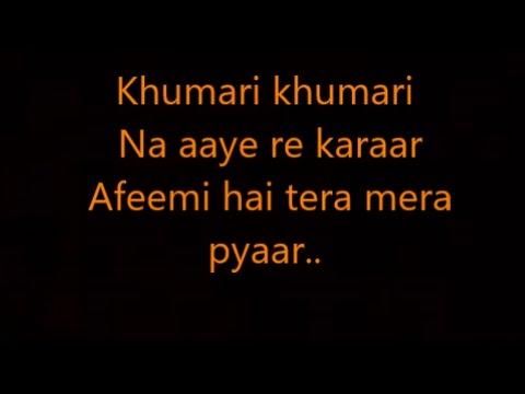 afeemi lyrics meri pyaari bindu