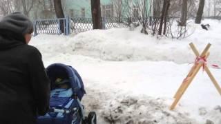Краснотурьинск. Попасть в дом №41 на улице Попова крайне трудно