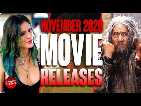 MOVIE RELEASES YOU CAN'T MISS NOVEMBER 2020