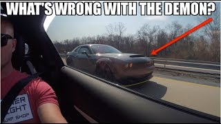 Dodge Demon Owner Can'T Believe He Lost To A Stock Amg C63! (Even I Was Shocked Lol)