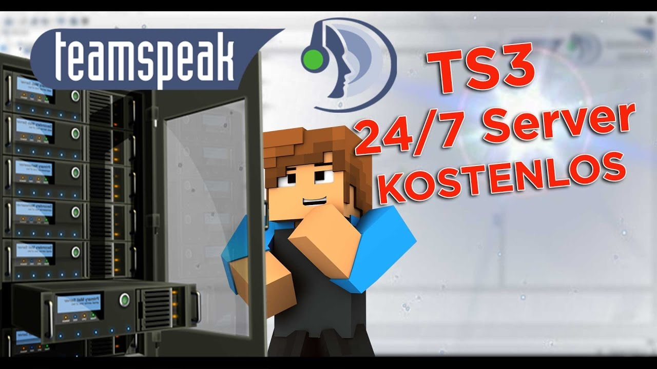 teamspeak 3 server kostenlos online erstellen und hosten 24 7 tutorial deutsch youtube. Black Bedroom Furniture Sets. Home Design Ideas