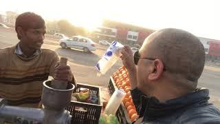 How do you get rid of Traffic Jam Frustration ? Dialogue with Juice Seller