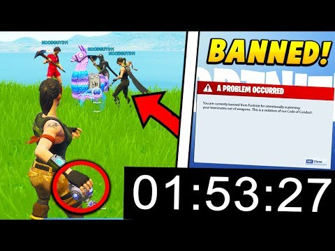 I tested to see HOW LONG it takes to get BANNED on fortnite.. (Fortnite Battle Royale)