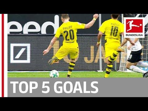 Bailey, Goretzka, Philipp and More  - Top 5 Goals on Matchday 09
