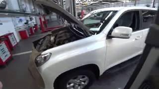Тойота Центр Люберцы. LC150. ТО-30000км +доп работы.