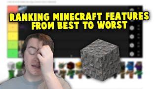 Ranking Every MC Update - Minecraft Tier Lists