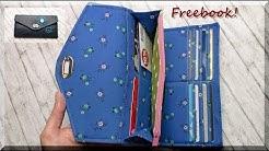 Portemonnaie LISANNE nähen /  kostenloses e-Book von AKkreativ