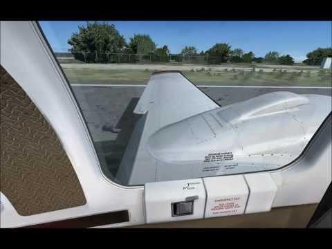 FSX Baron 58 R5 Kalaupapa landing