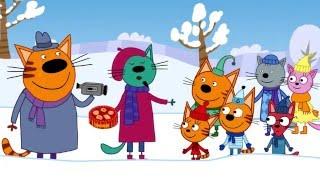 Три кота - Три кота - Снежные скульптуры - 11 серия