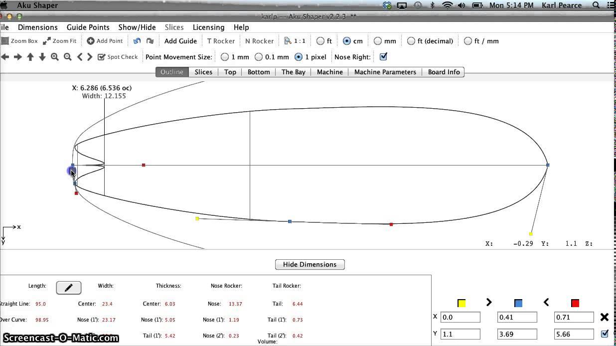 longboard template maker - aku shaper build a skateboard longboard model youtube