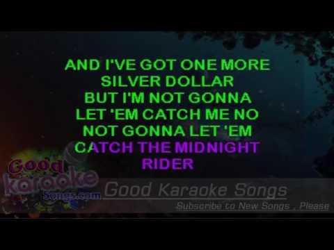 Midnight Rider -  The Allman Brothers Band (Lyrics Karaoke) [ goodkaraokesongs.com ]