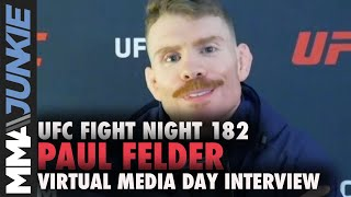 Paul Felder sees 'the path' to title shot with win | UFC Fight Night 182 interview