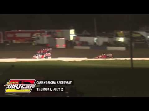 Highlights: Super DIRTcar Series Big Block Modifieds Canandaigua Speedway July 2nd, 2015